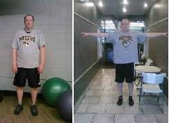 Brian lost over 80 pounds, virtual personal training Phoenix Physiques Fitness by Elvira